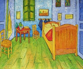 Van Gogh´s Bedroom at Arles yağlı boya tablo