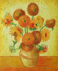 Sunflowers - Van Gogh yağlı boya tablo