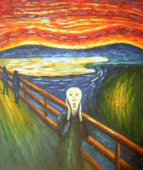 Munch - Scream yağlı boya tablo