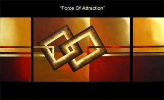 Force Of Attraction yağlı boya tablo