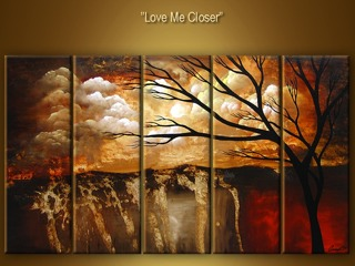 Love Me Closer yağlı boya tablo