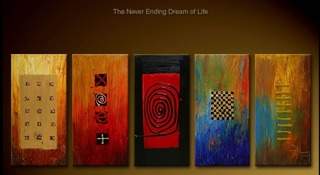 The Never Ending Dream Of Life yağlı boya tablo